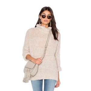 Free People She's All That Sweater Ivory Pullover